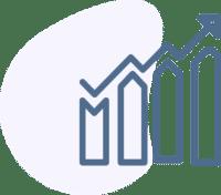 Markedsanalyse ikon